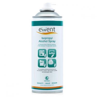 Limpiador de alcohol isopropilico ewent 400ml -  uso vertical - Imagen 1