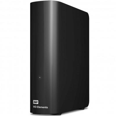 Disco duro externo hdd wd western digital 4tb elements desktop 3.5pulgadas usb 3.0 negro - Imagen 1