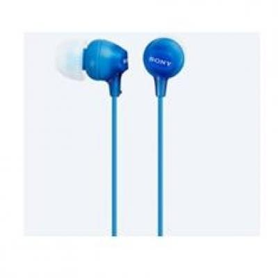Auriculares sony mdrex15lpli boton azul - Imagen 2