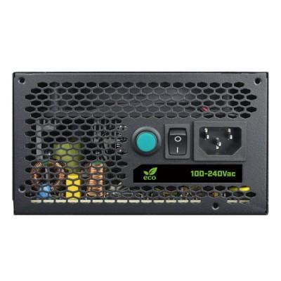 CoolBox DeepEnergy RGB600 unidad de fuente de alimentación 600 W 20+4 pin ATX ATX Negro - Imagen 4