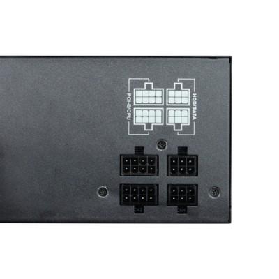 CoolBox DeepEnergy RGB600 unidad de fuente de alimentación 600 W 20+4 pin ATX ATX Negro - Imagen 5