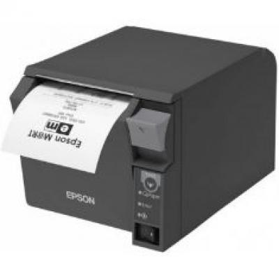 Impresora ticket epson tm - t70ii termica directa usb + red ethernet negra - Imagen 6