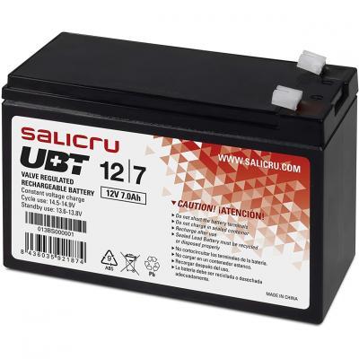 Bateria agm salicru compatible para sais 7ah 12v - Imagen 2