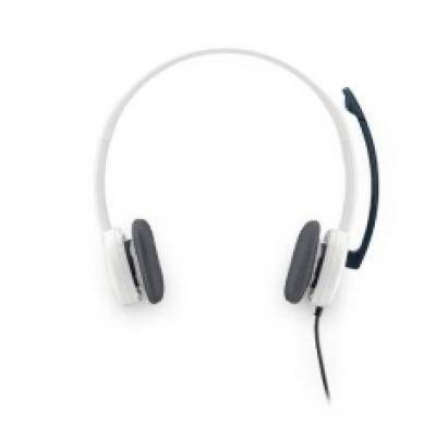 Auriculares con microfono logitech headset h150 blanco - Imagen 10