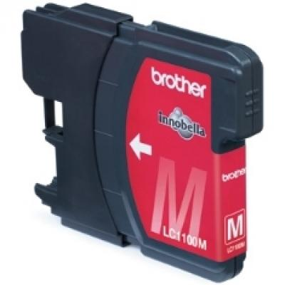 Cartucho tinta brother lc1100m magenta 325 paginas dcp - 585cw -  dcp - 6690cw -  mfc - 490cw -  mfc - 790cw - Imagen 2