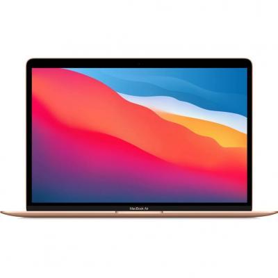 Portatil apple macbook air 13 mba 2020 - apple m1 - 8gb - ssd256gb - 13.3 - gold - Imagen 1