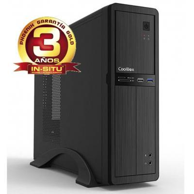 Ordenador de oficina phoenix oberon pro intel core i5 10º gen 8gb ddr4 480 gb ssd rw micro atx slim  pc sobremesa - Imagen 1