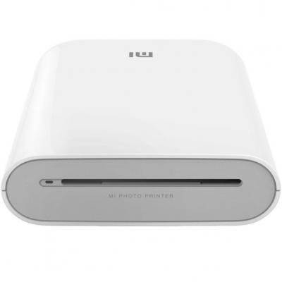 Impresora portatil fotografica xiaomi mi portable photo printer bluetooth blanca - Imagen 1