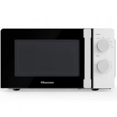 Microondas hisense h20mows1hg -  700w - 20l - blanco - Imagen 1