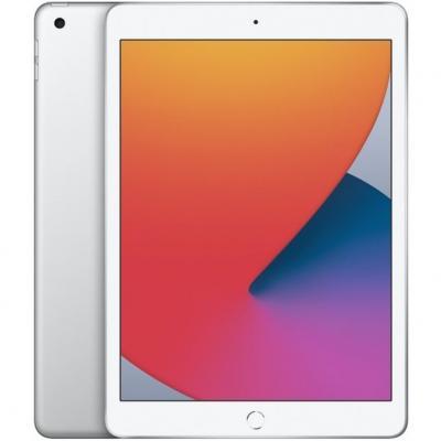 Apple ipad 10.2  2020 32gb wifi silver 8 gen 10.2 - retina - chip a12 - 8 mpx - compat. apple pencil 1 myla2ty - a - Imagen 1