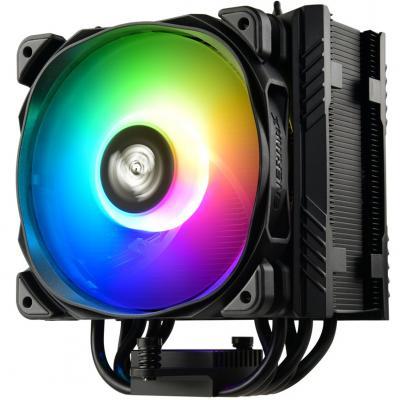 Ventilador disipador gaming enermax ets - t50a - bk - argb para intel amd argb 1x12cm - Imagen 1