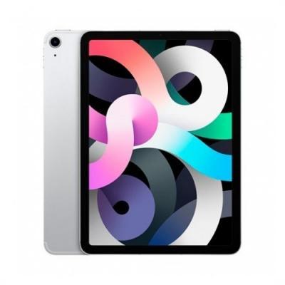 Apple ipad air 4 10.9pulgadas  2020 64gb wifi silver 8 gen 10.9  - liquid retina - a14 - 12mpx - comp. apple pencil 2 myfn2ty -