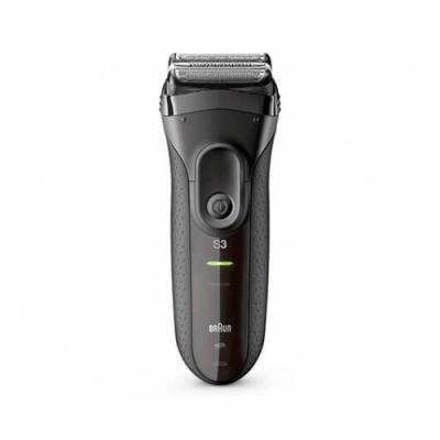 Afeitadora braun serie 3 3020 black autonomia 45m -  afeita -  lavable -  resistente al agua - Imagen 1