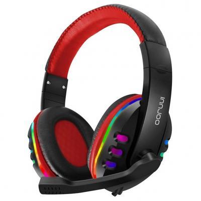 Auriculares con microfono innjoo gaming headset -  rgb -  superbass -  cancelacion de ruido - Imagen 1
