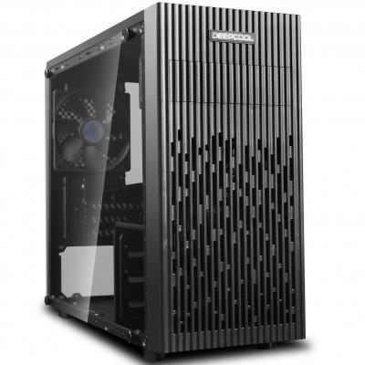 Caja ordenador gaming deepcool 30 micro atx - cristal templado - usb - negro - Imagen 1