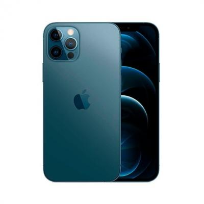 Apple iphone 12 pro 128gb pacific blue sin cargador - sin auriculares - a14 bionic - 12mpx - 6.1  mgmn3ql - a - Imagen 1
