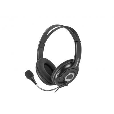 Auriculares natec bear 2 nsl - 1178 con microfono negros - Imagen 1