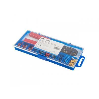 Caja herramientas lanberg crimpadora y 100 terminales electricos 1.25 a 4mm - Imagen 1