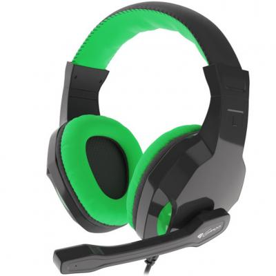 Auriculares gaming genesis argon 100 verdes - Imagen 1