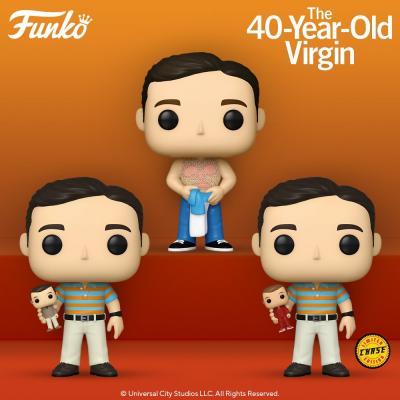 Caja sorpresa funko cine virgen a los 40 andy en sus tres variantes - Imagen 1