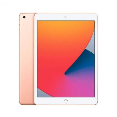 Apple ipad 10.2  2020 128gb wifi gold 8 gen 10.2 - retina - chip a12 - 8mpx - compatible con  apple pencil 1 mylf2ty - a - Image