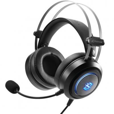 Auriculares gaming sharkoon sgh30 microfono alambrico - Imagen 1