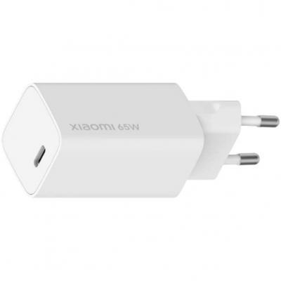 Cargador de pared xiaomi mi fast charger -  usb - c x1 -  65w - Imagen 1