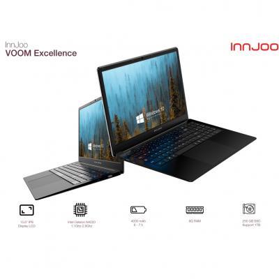 Portatil innjoo voom excellence 15.6pulgadas 8gb -  256gb ssd -  celeron n4020 -  wifi -  bluetooth -  w10 - - Imagen 1