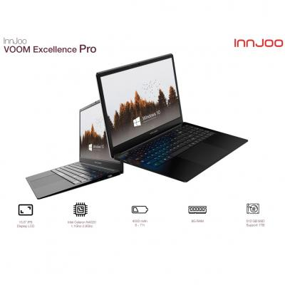 Portatil innjoo voom excellence pro 15.6pulgadas 8gb -  512gb ssd -  celeron n4020 -  wifi -  bluetooth -  w10 - - Imagen 1