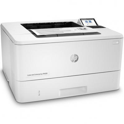 Impresora hp laser monocromo laserjet enterprise m406dn a4 -  40ppm -  usb -  red -  duplex impresion - Imagen 1