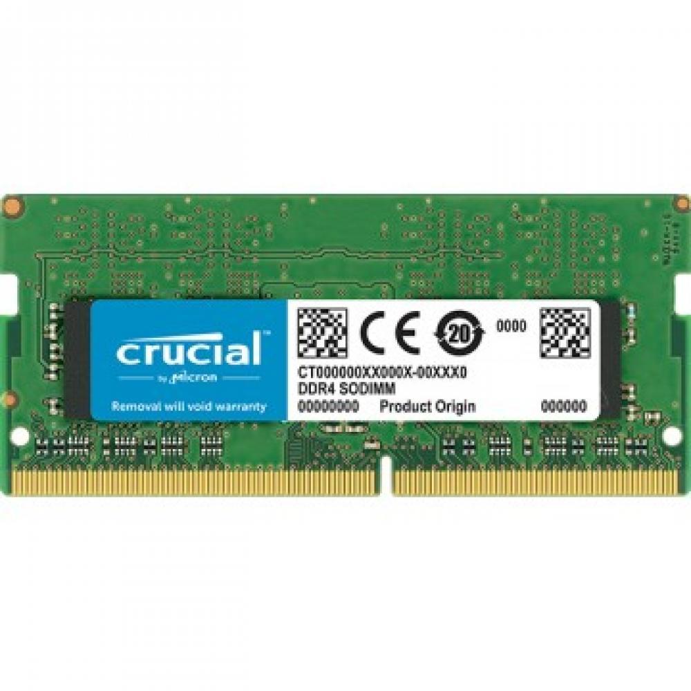 Memoria ddr4 16gb crucial - sodimm - 2666 mhz - pc4 21300 - Imagen 1