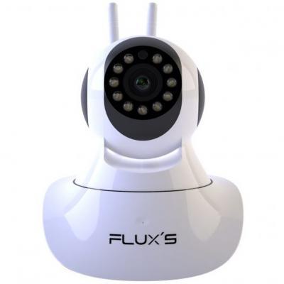 Camara ip flux's linx fhd vision nocturna -  sensor de movimiento -  accion bidireccional - Imagen 1