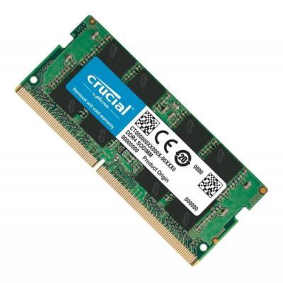 Memoria ddr4 4gb crucial - sodimm - 2666 mhz - pc4 21300 cl19 - Imagen 1