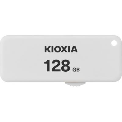 Memoria usb 2.0 kioxia 128gb u203 blanco - Imagen 1