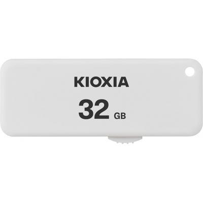 Memoria usb 2.0 kioxia 32gb u203 blanco - Imagen 1