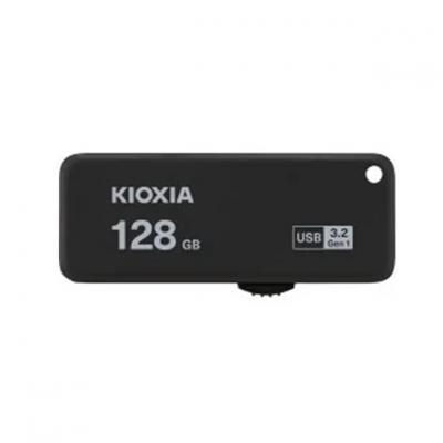 Memoria usb 3.2 kioxia 128gb u365 negro - Imagen 1