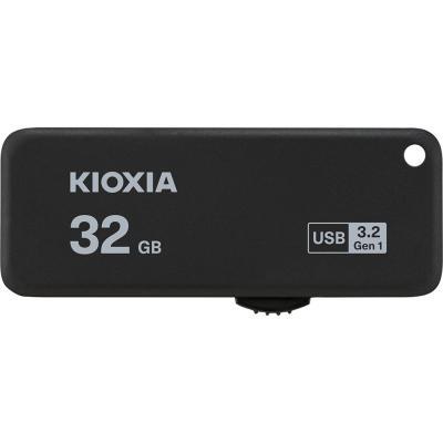 Memoria usb 3.2 kioxia 32gb u365 negro - Imagen 1