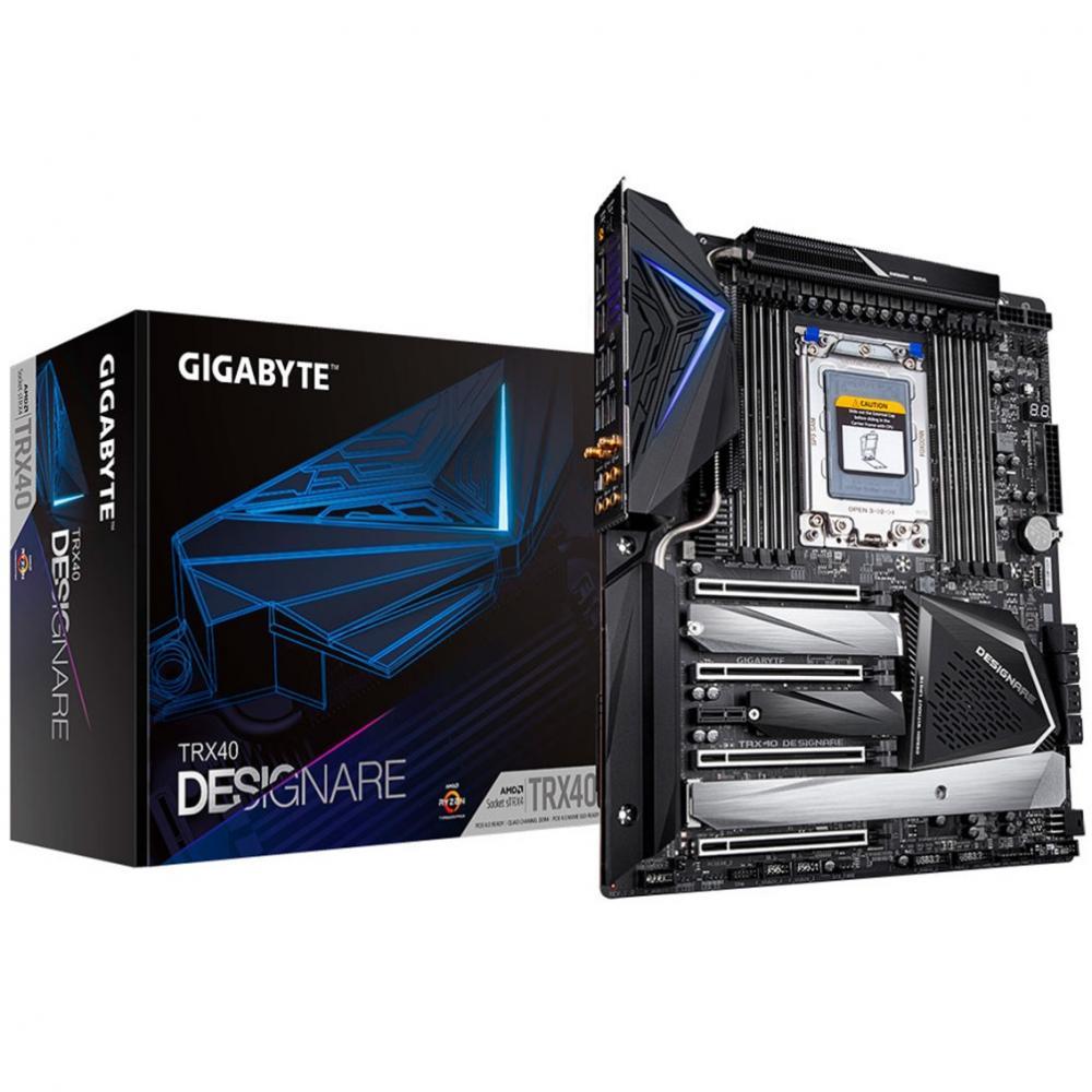 Placa base gigabyte trx40 designare atx 8xddr4 - Imagen 1