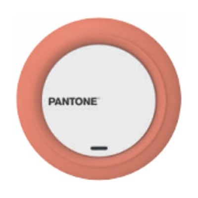 Cargador universal pantone inalambrico naranja - Imagen 1