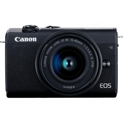 Camara digital canon eos m200 negra ef - m -  24.1mp -  digic 8 -  4k -  wifi -  bluetooth - Imagen 1