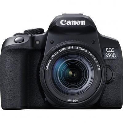 Camara digital canon eos 850d+ef - s 18 - 55mm is -   24.1mp -  digic 8 -  45 puntos de enfoque -  4k -  wifi -  bluetooth - Ima
