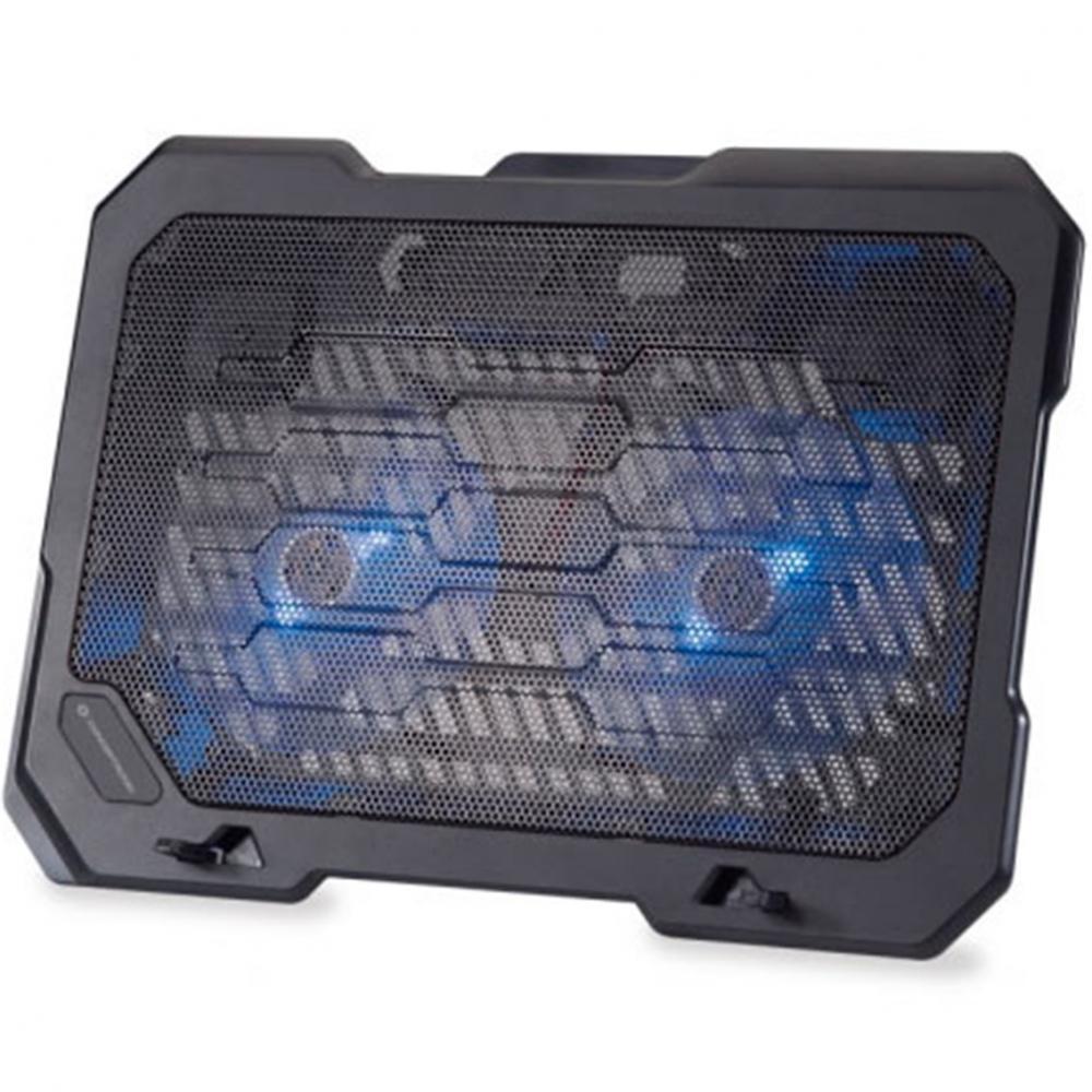 Base refrigeracion conceptronic para portatiles 2 ventiladores 125mm hasta 15.6pulgadas - Imagen 1