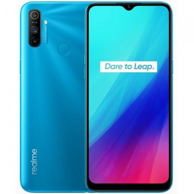 Telefono movil smartphone realme c3 frozen blue - 6.5pulgadas - 64gb rom - 3gb ram - 12x3mpx -  2mpx - lector huella - Imagen 1