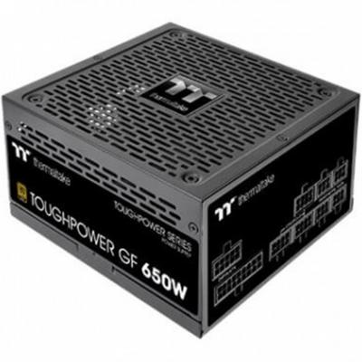 Fuente de alimentacion atx 650w thermaltake toughpower gf 80+ gold -  full modular -  ventilador 140mm - Imagen 1