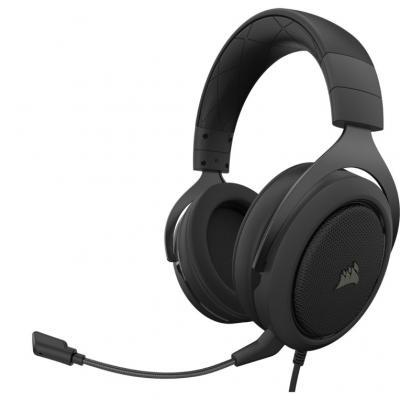 Auriculares gaming corsair hs50 pro stereo negro - Imagen 1