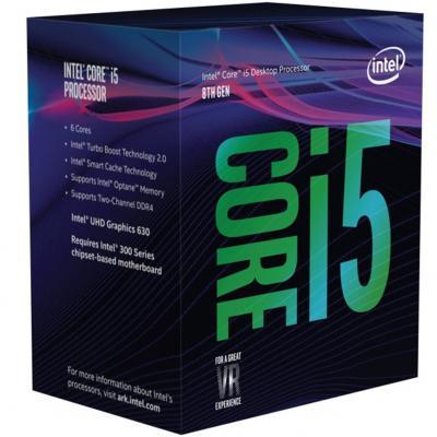 Cpu intel i5 8600 s1151 - Imagen 1