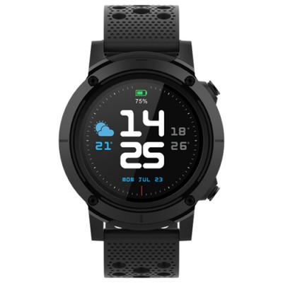"Denver SW-510BLACK reloj inteligente 3,3 cm (1.3"") Negro GPS (satélite) - Imagen 3"