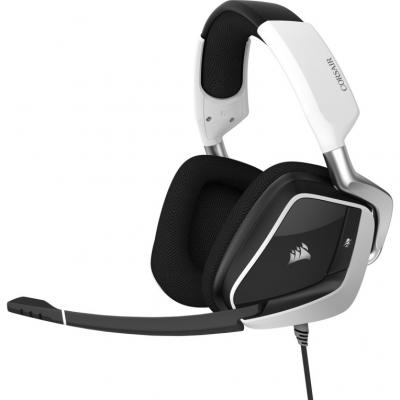 Auriculares gaming corsair void elite rgb usb 7.1 blanco - Imagen 1
