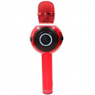 Microfono inalambrico iconsinger pro party para karaoke bluetooth - efectos de sonido - luces led multicolor - rojo - Imagen 1