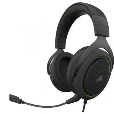Auriculares gaming corsair hs50 pro stereo verde - Imagen 1